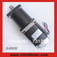 High Torque NEMA 23 Frame 57mm Planetary Geared Stepper Motor With Selection Gear Ratio 1:15 20 25 30 40 50 100