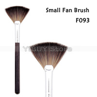 High Quality Small Fan Brush Soft Synthetic Hair Professional Powder Make up Brush Tools 5pcs/Lot