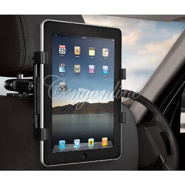 "Universal Car Back Seat Headrest Mount Holder Stand Bracket Kit 7"" - 13""for iPad Mini 4 3 2 for SAMSUNG Galaxy Tab 10.1 Tablet(China (Mainland))"