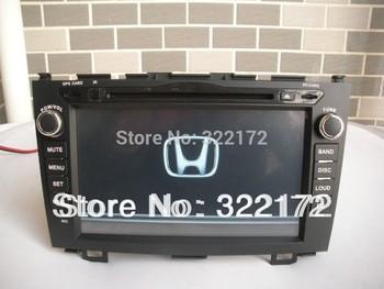 Car Radio Audio DVD Player GPS For Honda CRV 2006~2011 Free Shipping