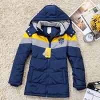 2014 winter warm hot new designer brand children's wear zip down jacket coat for six to teenager child boy 6  8 10 12 14  years