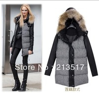 2013 autumn -summer winter outerwear thickening winter jacket womens cotton Coats & Jackets women's Down & Parka Coats