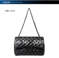 Free shipping New Women Plaid Handbags Chain Shoulder Bags Classical Shoulder Bags Messenger Bags