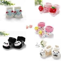 Kids Baby Unisex Newborn Animal Cartoon Socks Cotton Shoes Booties Boots 0-10M Free Shipping