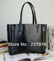 2013 retro genuine leather lady's handbag similar model as cabas; Fashion genuine leather shoulder bag for lady;