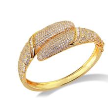 Gold plated bracelet female birthday gift