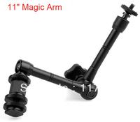 11 Inch Magic Arm, for Camera Camcoder DV LCD Monitor LED light Shoemount DSLR Rig free shipping P0040
