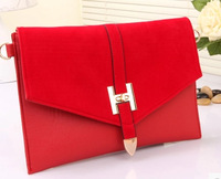 Promotion Free shipping New Fashion rDesigner Casual  Red envelope  women handbags woman clutches party messenger bags bolsas