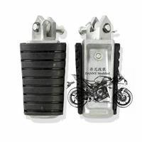Motorcycle front Foot Rests Foot pedal for Yamaha King XV250 XV400 XV535 XV750 XV1100 one pair Free Shipping