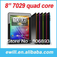 Free shipping Original ATM7029 Quad core Tablet pc Android 4.1 8 inch 1024x768 IPS 1GB DDR3 8GB WiFi OTG HDMI