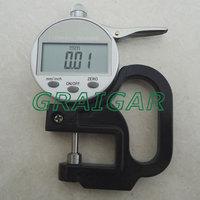 Round head thickness gauge/Digital display thickness gauge/Electronic thickness gauge/Accuracy 0.01mm