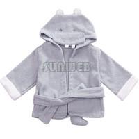 Baby Toddler Girl Boy Animal Pattern Bathrobe Cartoon Baby Towel kids bath robe 0-2 Years Old 18394 SV16