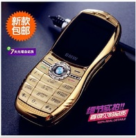 The new 2013 authentic minimum ultra small mini phone straight plate metal fuselage fashion pocket personality