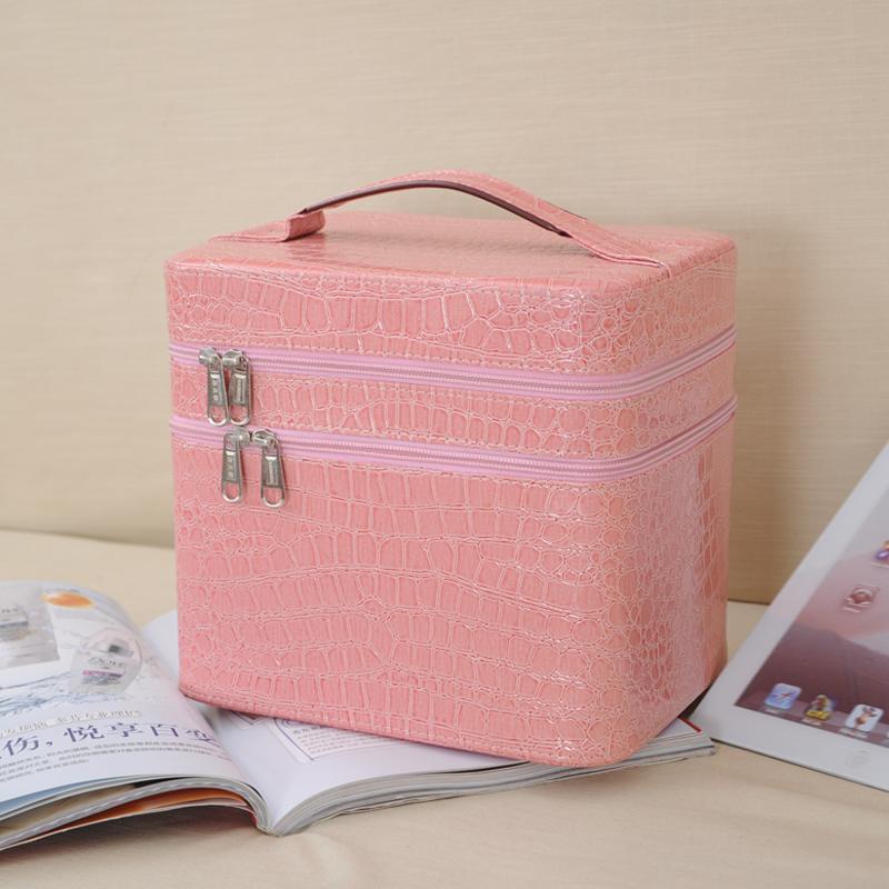 2014 Korea Style Women's  Waterproof Cosmetic Bags Large Capacity