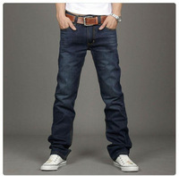 New fashion 2013 leisure casual stylish men's jeans well-know brand pants for men ( 95% cotton men's pants )