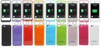 2200mAh External Battery Backup Charger Case Pack Emergency Portable Power Bank for iPhone 5 5S iPhone5 5 S