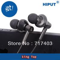Free shipping best Universal earphone with mic for Iphone Samsung Nokia Sony Ericsson lenovo Huawei mi JIAYU ZOPO IPOD PSP THL
