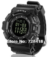 Multifunction Outdoor Spovan Watch Barometer/Altimeter/Thermometer/Weather Forecast/ World Time/ Chronograph Digital Sport Watch
