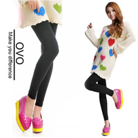 OVO!2014 New Women Autumn Summer Warm Winter Faux Velvet Legging High Quality Knitted Thick Slim Leggings free shipping B001