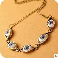 Fashion vintage  Multiple evil eyes jewelry sets  ring  necklaces & pendants  bracelets & bangles rings for women  C13