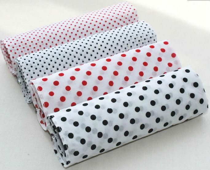 3pcs/lots 100% cotton handkerchief dot  42*42cm plain coloured dots lady 60 branch cotton hanky pocket square high quality soft(China (Mainland))