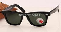brand name original wayfarer 2140 black polarized sunglasses men women driving glasses rb glass lens Polarized 50mm 54mm