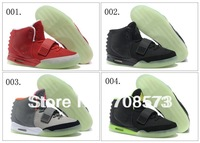 25 Colours Wholesale Kanye West Air Yeezy 2 II Red October Men's Basketball Sport Footwear Sneakers Trainers Shoes