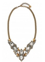 2013 fashion new arrival SD Luxury Jewelry  fall season  ZORA CRYSTAL Statement Necklace OEM