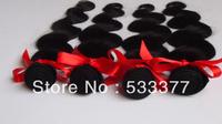 Hot selling peruvian human hair extension 50g/pcs 4pcs/lot 10-26inch peruvian virgin hair body wave can be dyed