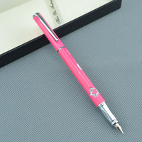 NEW luxury High quali HERO Pen BRAND Ming  tip carving flowers Ink Pen Writing Supplies pen