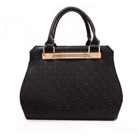 Bags women 2013 autumn fashion women leather handbag totes designer brand bolsas embossed handbag elegant one shoulder bags