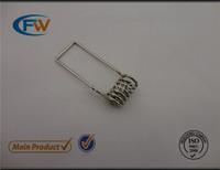 Nickel 45mm downlight torsion spring clip,spring for light ,spring for lighting ceiling,led torsion spring