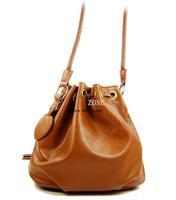 2013 New Korean Style Women Handbag PU Leather Shoulder Cross Body Messenger Bag Purse Black Brown 5606