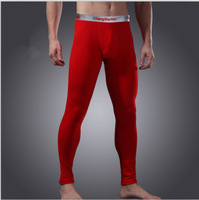 High Quality Warm Thermal Underwear Pant Men Modal Slim Tight Winter Long Johns Free shipping
