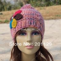 NEW Fashion Womens Knit Baggy Beanie Hat crochrt wool Winter Warm Oversized Ski Cap