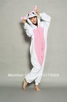 White cat  onesies pajamas