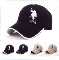High quality Brand hat 100% cotton fashion male women's baseball cap sunbonnet hat cap men