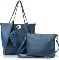 Free Shipping 2013 Fashion Women's Leather Handbags Messenger Shoulder Bags PU Designer Handbags Tote High Quality Lock Wallets