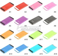 High Quality Repair Part Colorful Hard Metal Back Battery Housing Cover Case For iphone 5 5G,Replacement  Free Shipping