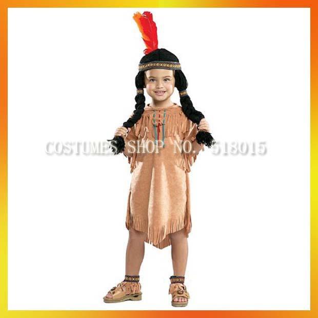 Фото костюма индейца для девочки своими руками