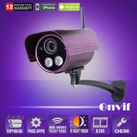ANRAN 1080P 2.0 Megapixel HD Wireless IP Camera H.264 P2P Onvif 2 IR Night Vision Outdoor Waterproof CCTV Security WiFi Camera