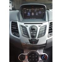 Car Stereo GPS Navigation for Ford Fiesta 2008-2012 Multimedia Headunit Sat Nav Autoradio Radio DVD Player SD Bluetooth A2DP POP