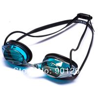 Profession waterproof anti fog speedo style adult silicone swim goggles