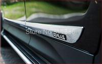 2013 2014 Toyota RAV4 RAV 4 Chrome Body Side Door Molding Trim