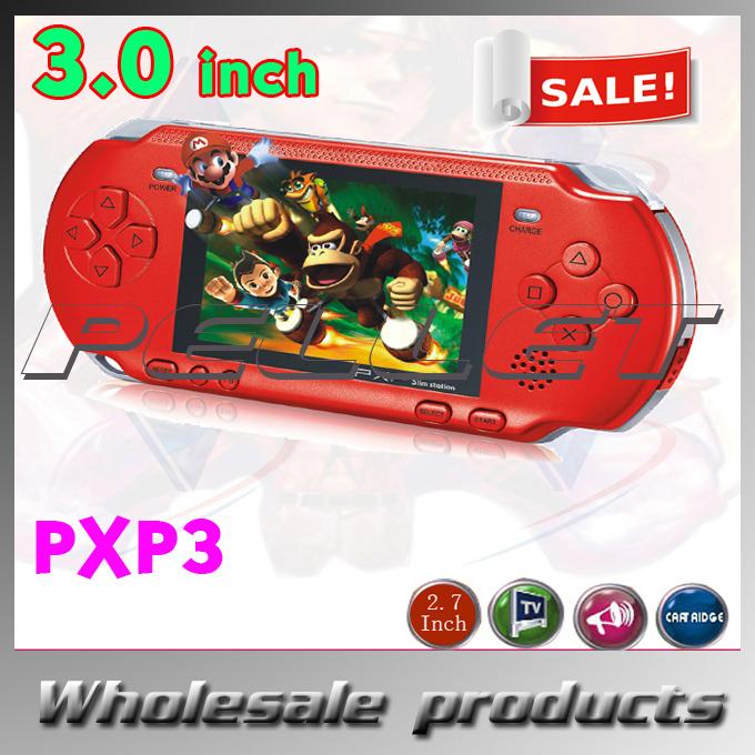 Портативная игровая консоль Pellet 3.0 LCd PXP3 100pcs/lot DHL/Fedex массажер oem dhl 100pcs lot