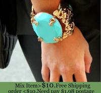 ZH0732  Fashion Jewelry For Women Korean version chunky bangle popular vintage Statement Bracelets&Bangles