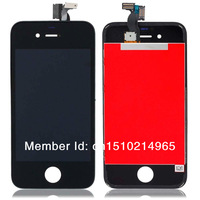 LCD Assembly Digitizer Touch Screen LCD Replacement For iPhone 4s Free Shipping by DHL