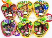 Free shipping Strawberry Shortcake Doll Fragrance Berries Sweet Candy handbag series toys dolls for girls