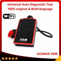 100% Original OBDII Vehicle Diagnostic UCANDAS VDM Auto Diagnosis System online update with WIFI same function as Diagun