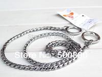 spring dog metal leash  dog snake chain traction rope satsuma zhuaizhu traction belt pet metal collar